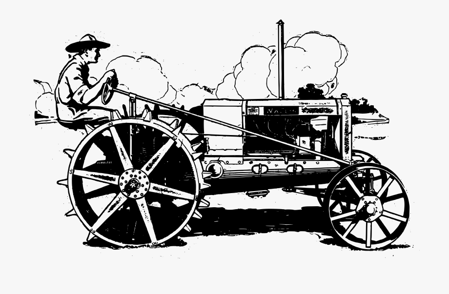 International tractor clipart svg free library International Harvester Tractor Clip Art Transprent - Vintage ... svg free library