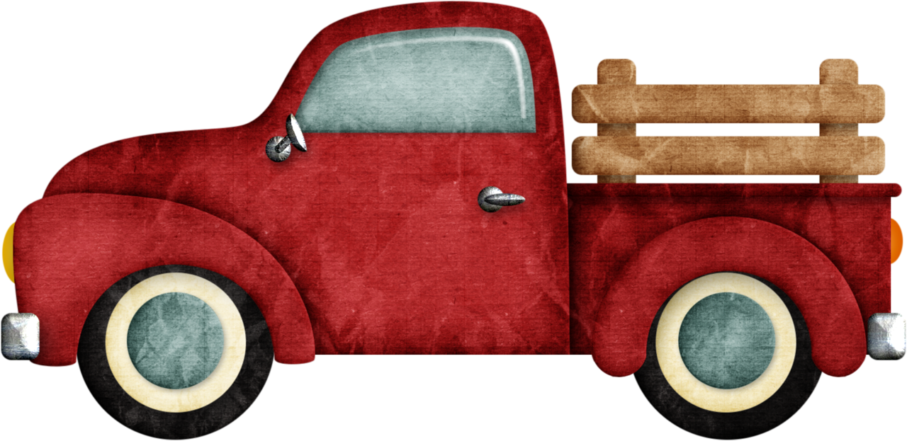 Antique truck rear facing clipart freeuse jss_happycamper_truck.png   sewing   Vintage pickup trucks, Pickup ... freeuse