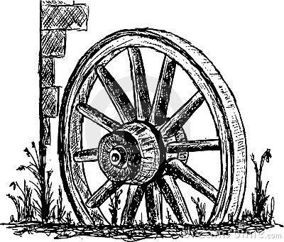 Antique wagon wheel clipart graphic free library Free Wagon Wheel Cliparts, Download Free Clip Art, Free Clip Art on ... graphic free library