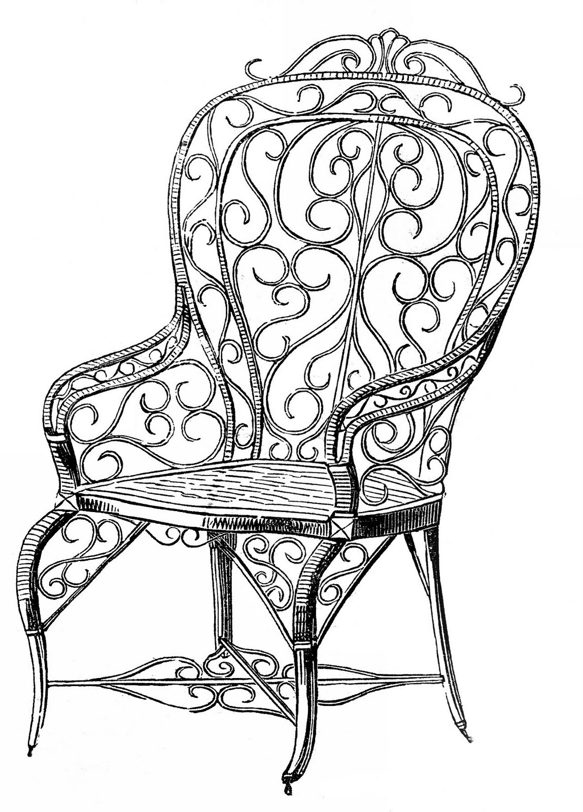 Antiques furniture clipart clipart stock Free Antique Cliparts, Download Free Clip Art, Free Clip Art on ... clipart stock