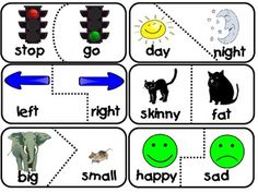 Antonyms examples clipart image download Op-pup-sites | Puppys, Student-centered resources and Pictures image download