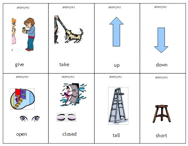 Antonyms examples clipart black and white download Antonyms and Synonyms – word lists, activities, and worksheets ... black and white download