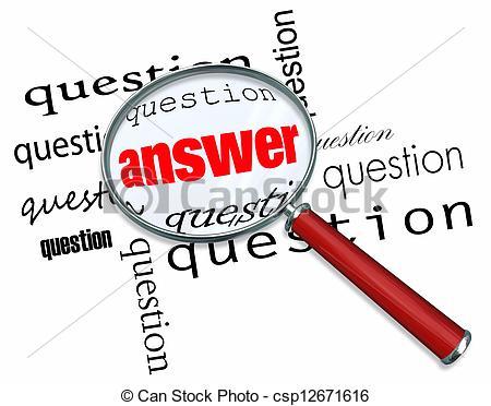 Antworten clipart. Fragen und clipartfest glas