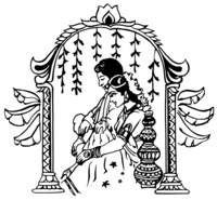 Anu cliparts black and white vector royalty free Indian wedding clipart black and white 1 » Clipart Portal vector royalty free