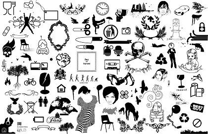 Black and white clip. Anu cliparts free download