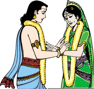 Anu cliparts wedding graphic Download Indian Wedding Cliparts   Free Images at Clker.com - vector ... graphic