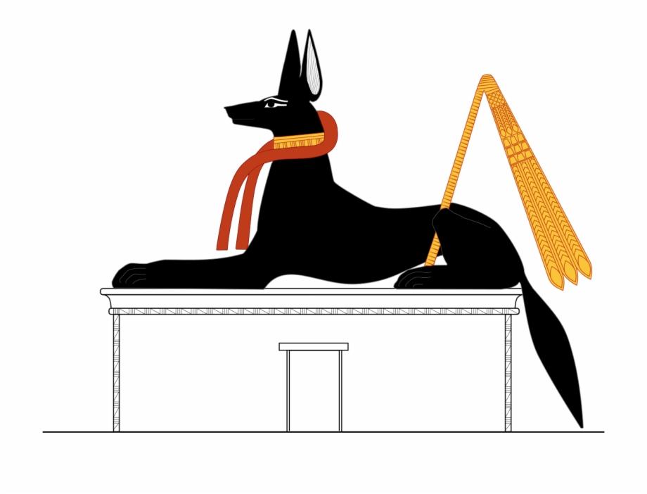 Anubis jackal clipart clip art freeuse download File - Anubis Jackal - Svg - Anubis Svg Free PNG Images & Clipart ... clip art freeuse download