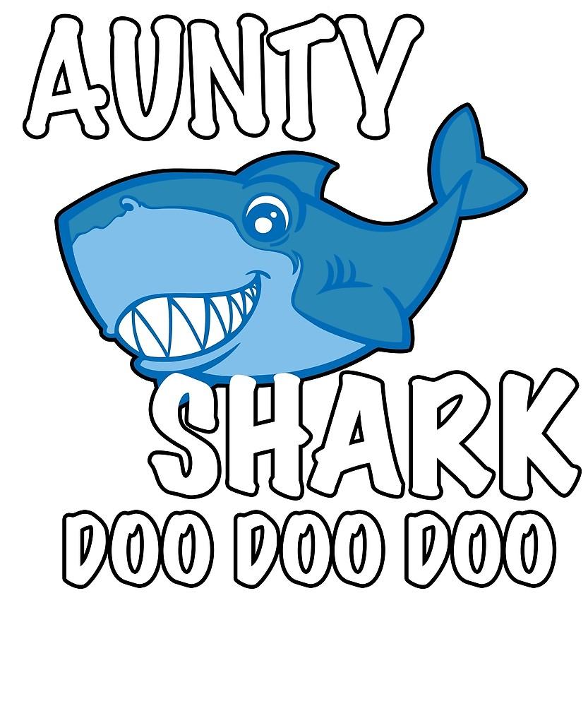 Anut in jeans clipart freeuse Aunty Shark Doo Doo Doo\