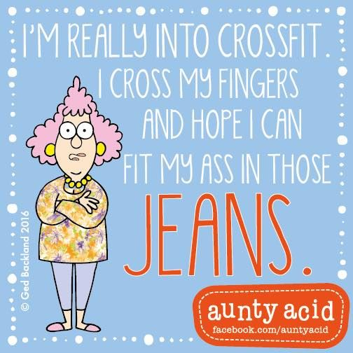 Anut in jeans clipart jpg free stock AuntyAcid I\'m really into crossfit   Funny quotes   Aunty acid, Aunt ... jpg free stock