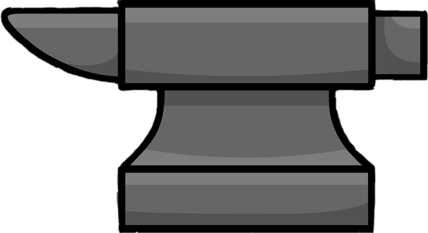 Anvil clipart png black and white library Anvil Clipart transparent PNG - StickPNG png black and white library