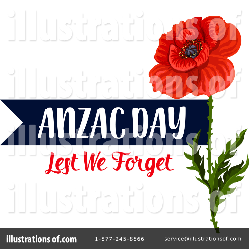 Anzac day 2018 clipart transparent Anzac Day Clipart #1524556 - Illustration by Vector Tradition SM transparent