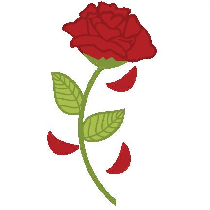 Aoii flower clipart clipart freeuse library Rose SVG scrapbook file rose svg file   aoii<3 one motto, one badge ... clipart freeuse library