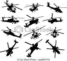 Apache attack helicopter clipart vector stock Image result for apache helicopter clipart | Take Flight | Military ... vector stock