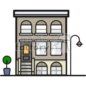 Apartment block clipart vector freeuse download Apartment block clip art vector images clipart. Royalty-free clipart #  403900 vector freeuse download