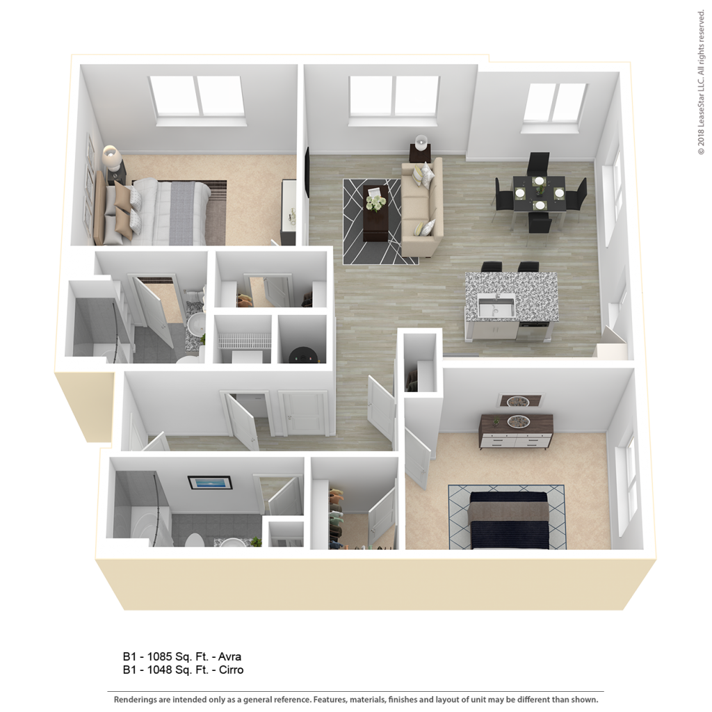 Apartment clipart two bedroom svg transparent library B1 Apartment Floor Plan   Center/West Baltimore svg transparent library