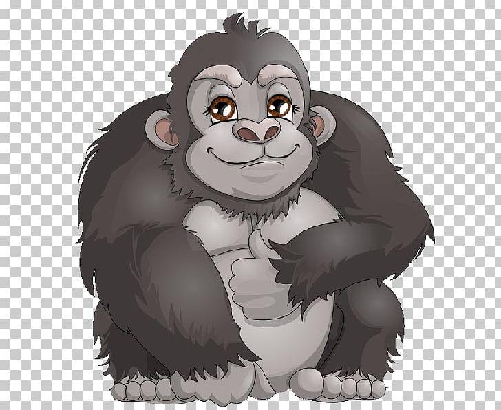 Ape cartoon clipart image transparent download Western Gorilla Ape Chimpanzee Cartoon PNG, Clipart, Animals ... image transparent download