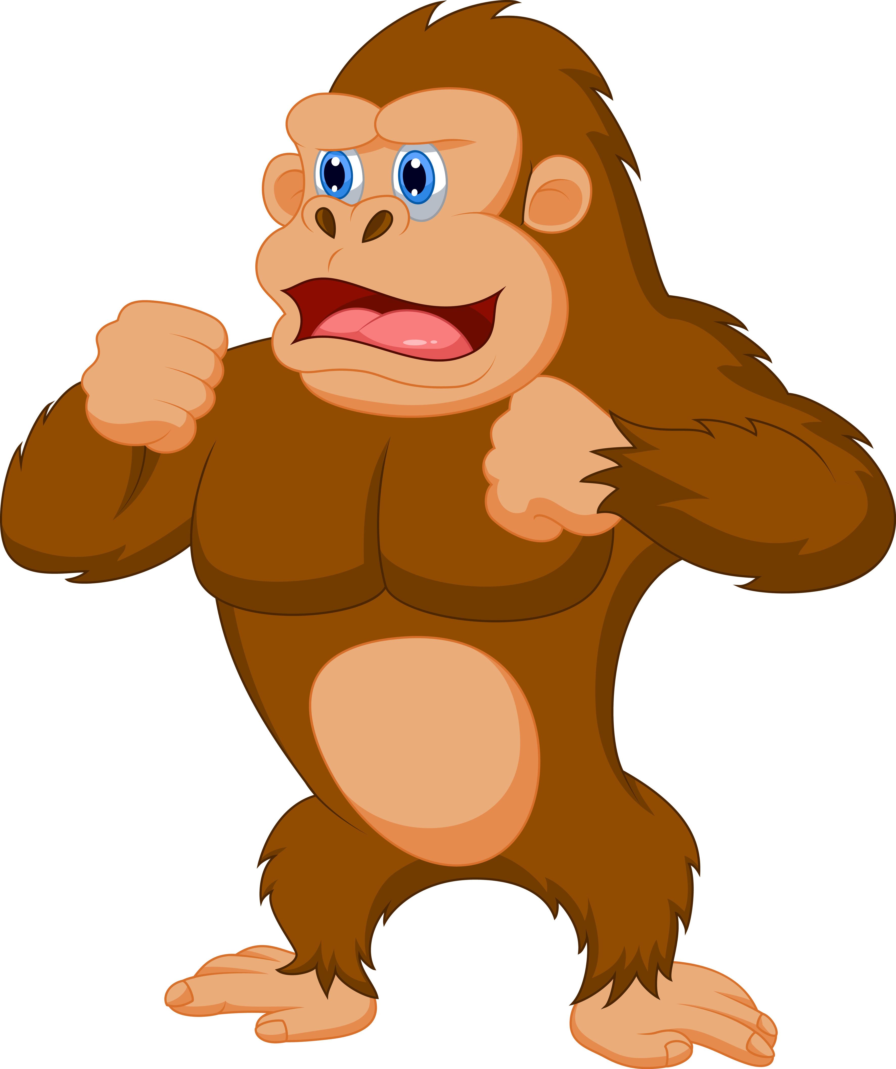 Ape cartoon clipart image royalty free download Cartoon Gorilla Clipart | Free download best Cartoon Gorilla Clipart ... image royalty free download