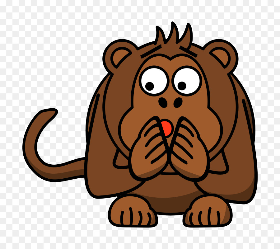 Ape cartoon clipart svg royalty free library Lion Drawing png download - 800*800 - Free Transparent Ape png Download. svg royalty free library