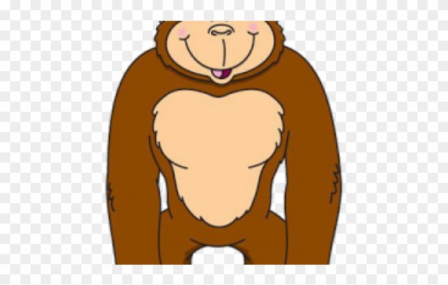 Ape cartoon clipart image free library Gorilla Cliparts - Ape Images Clip Art - Png Download (#3723025 ... image free library