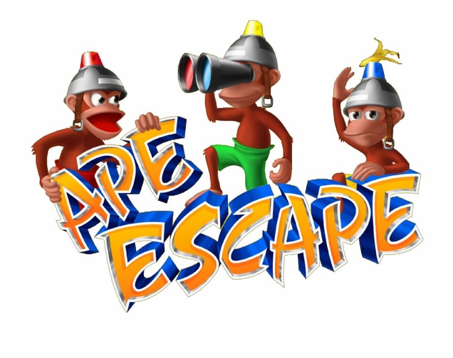 Ape escape academy clipart jpg transparent stock 20 Years Of Playstation - Ape Escape, Transparent Png Download For ... jpg transparent stock