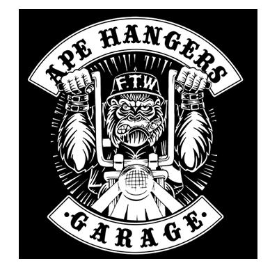 Ape hanger clipart vector royalty free stock Ape Hangers Garage   Peças e Acessório para Motos Custom vector royalty free stock