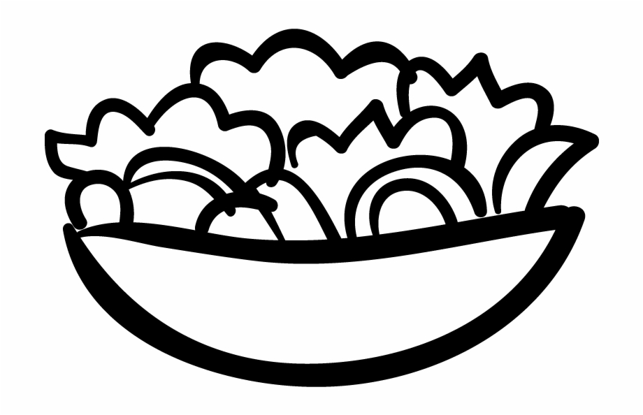 Appetizers and drinks clipart black and white banner freeuse library Appetizer Archives - Salads Icon Png, Transparent Png Download For ... banner freeuse library