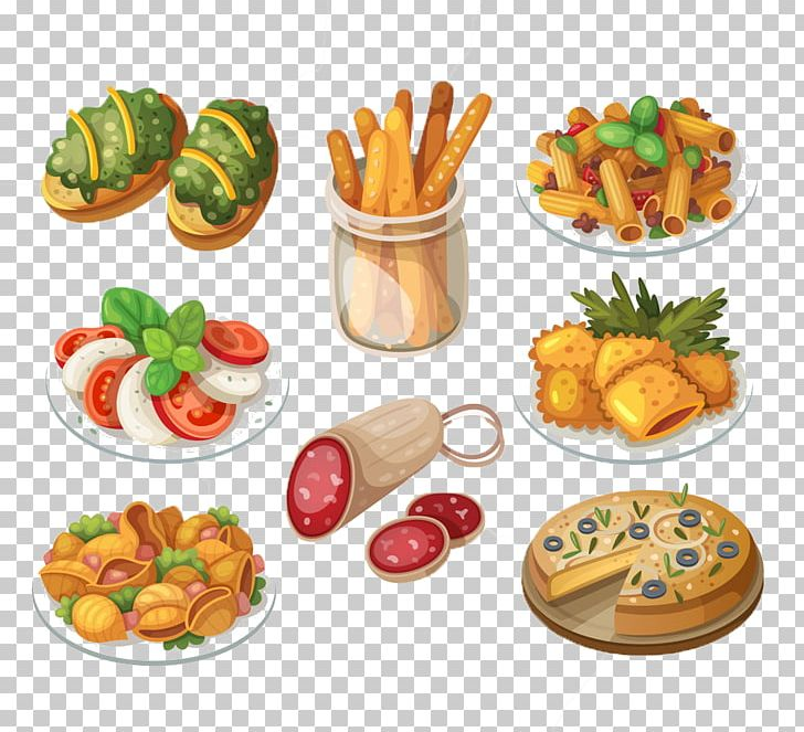 Apitizer png clipart black and white stock Italian Cuisine Pasta Hors Doeuvre Food PNG, Clipart, Appetizer ... black and white stock