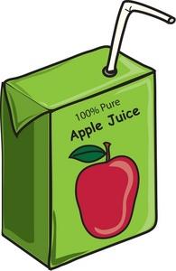 Aple juice clipart clip black and white stock Apple juice clip art | Clipart Panda - Free Clipart Images clip black and white stock