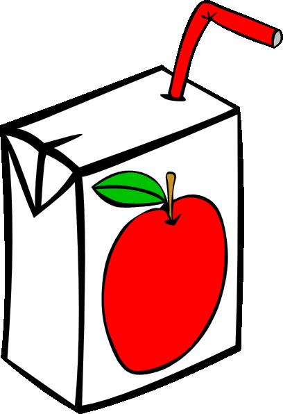 Aple juice clipart royalty free Apple Juice Carton Clip Art at Clker.com - vector clip art online ... royalty free