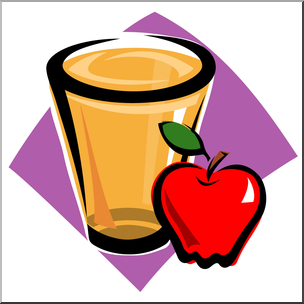 Aple juice clipart png library download Clip Art: Apple Juice Color I abcteach.com | abcteach png library download