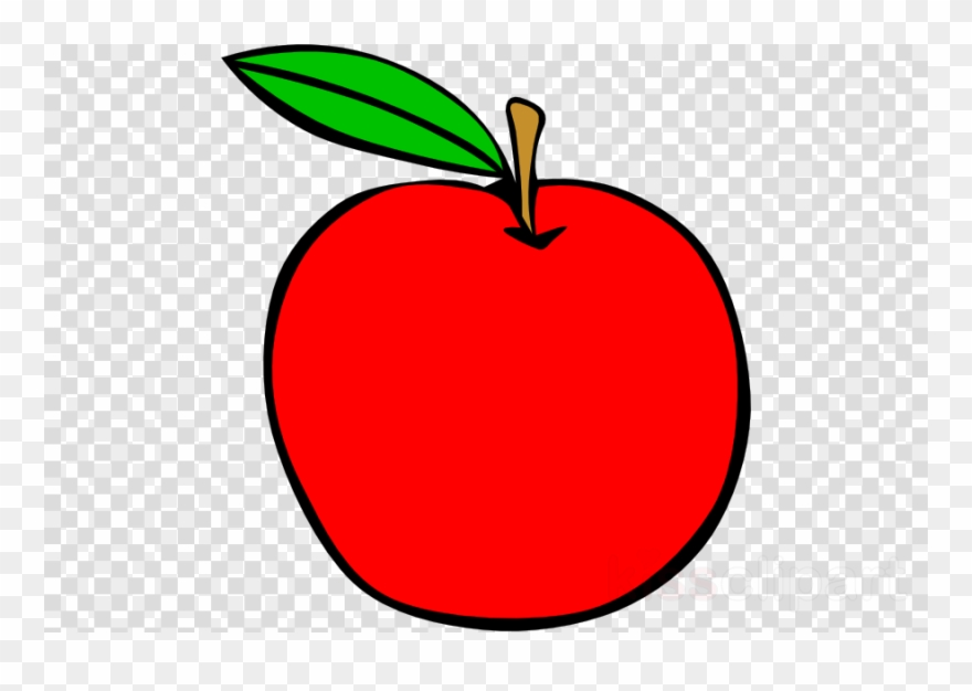 Apler clipart png library library Red Apple Clipart Clip Art - 8 Ball No Background - Png Download ... png library library