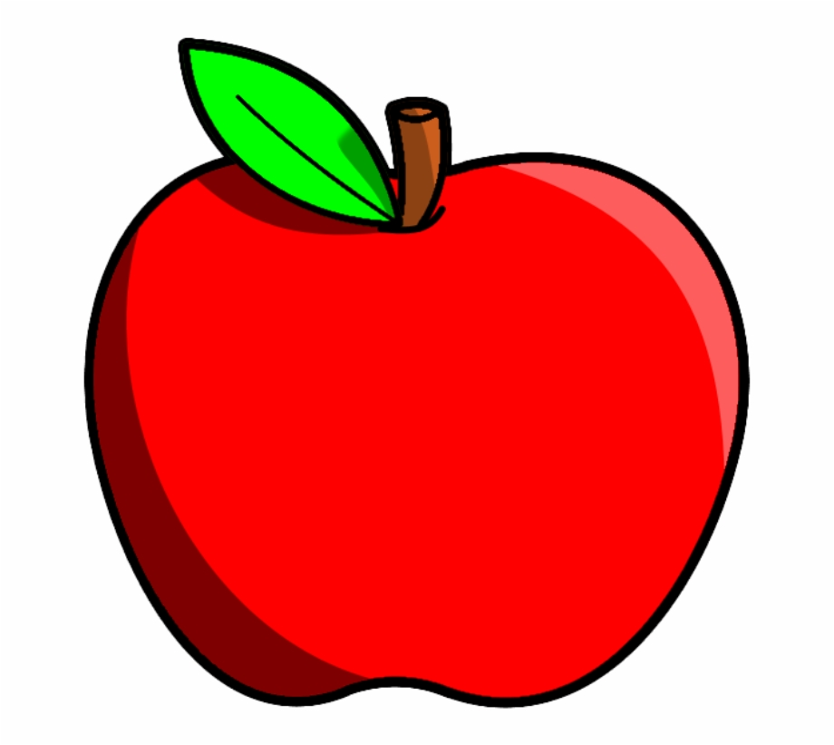 Cipple clipart picture library download Red Apple Fruits Png Transparent Images Clipart Icons - Transparent ... picture library download