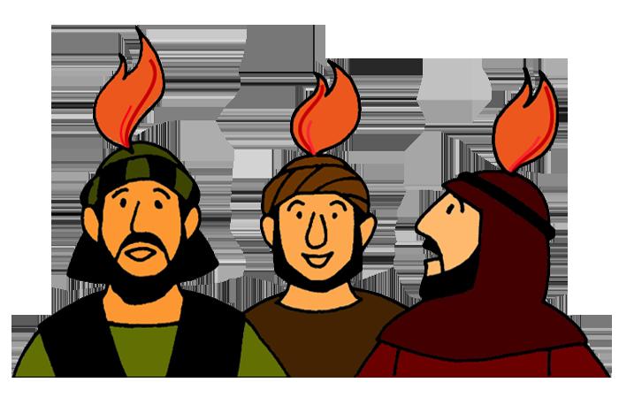 Apostles pentecost clipart clip freeuse Sermon at Pentecost - Mission Bible Class clip freeuse