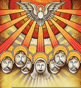 Apostles pentecost clipart graphic download Clipart Religious Pentecost | Free Images at Clker.com - vector clip ... graphic download
