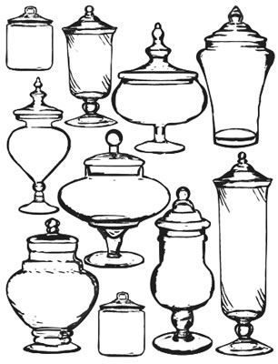 Apothecary bottle clipart jpg royalty free download Apothecary jars free …   Apothecary Jars in 2019… jpg royalty free download