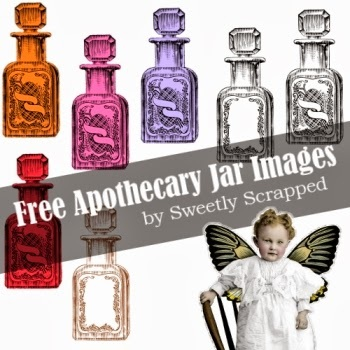 Apothecary bottle clipart image library library Apothecary - Sweetly Scrapped \'s Free Printables,Digi\'s and Clip Art image library library