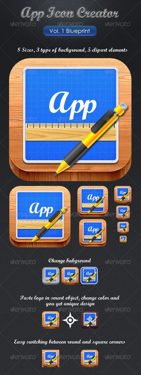 App clipart creator jpg transparent stock 17 Best ideas about App Icon Generator on Pinterest   App icon ... jpg transparent stock