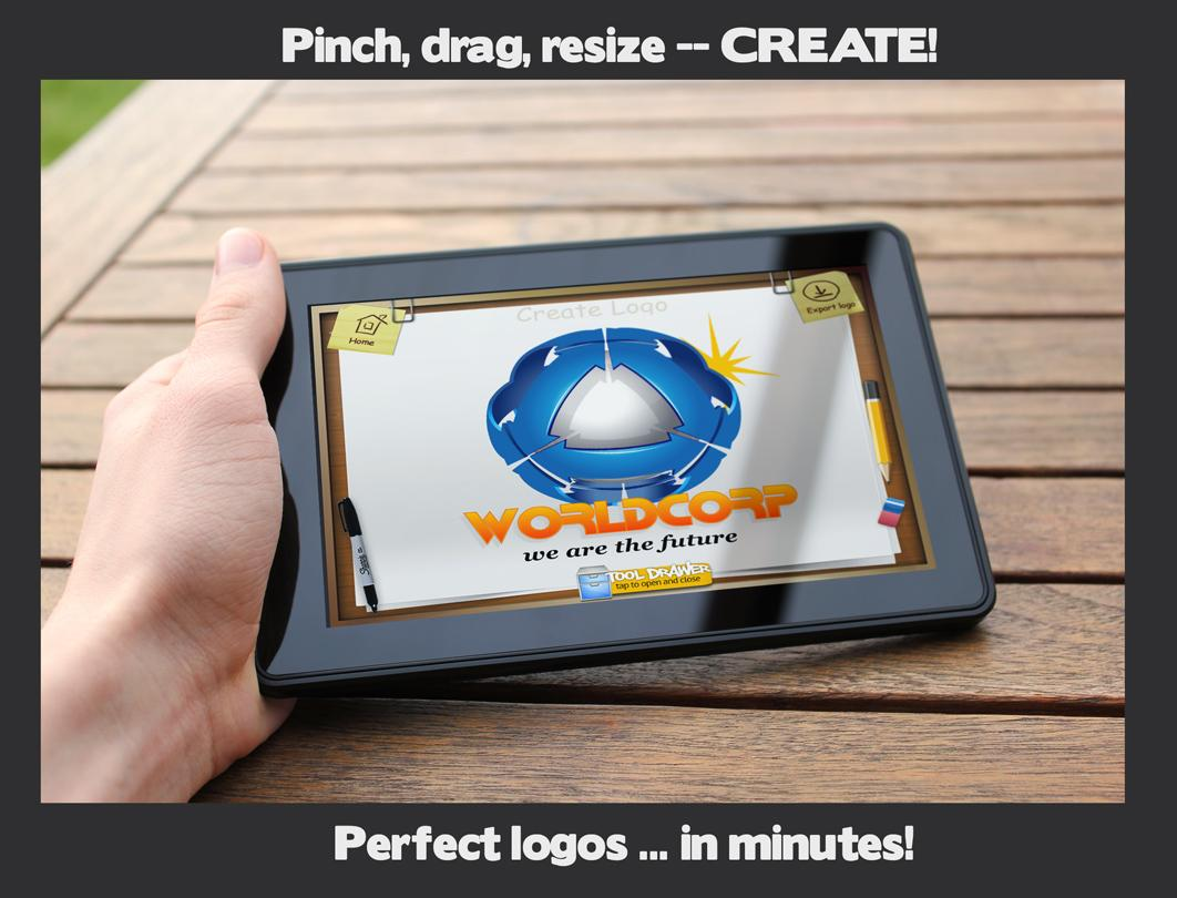 App clipart creator. Logo maker android apps
