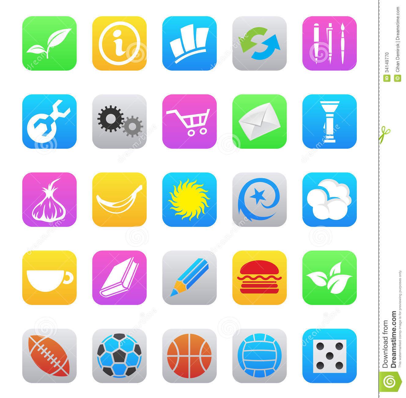 App clipart iphone. Ios clipartfox various style