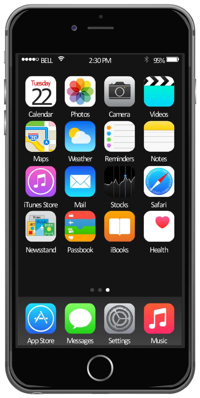 App clipart iphone. Ios stock clipartfox home