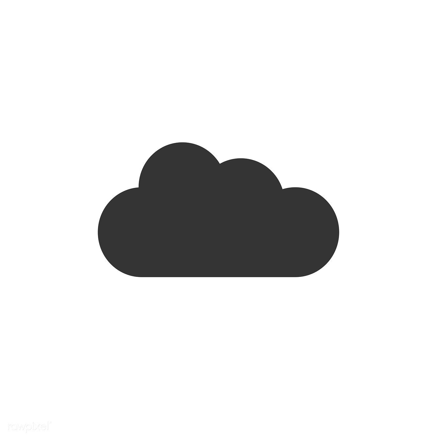 App icon vector clipart vector library library Cloud icon vector | free image by rawpixel.com | Free Vectors ... vector library library