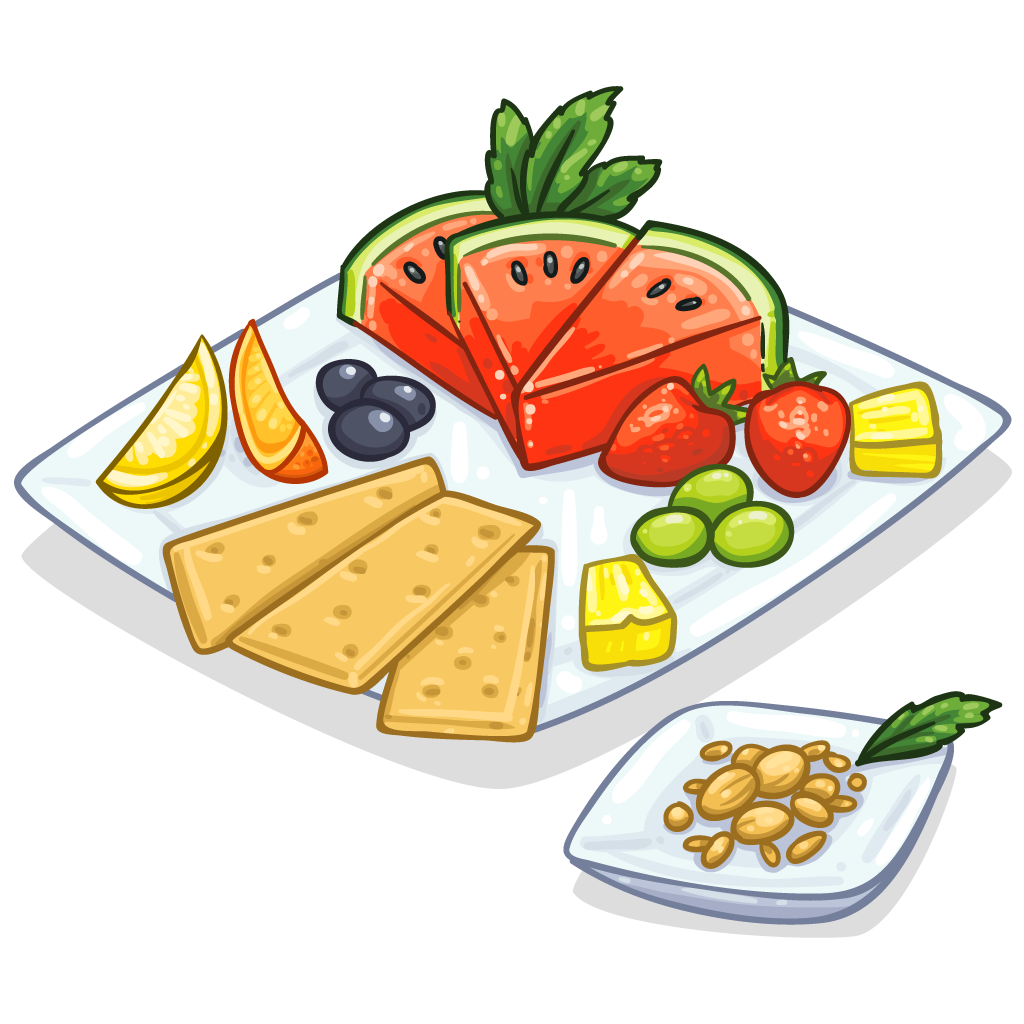 Appetizer clipart transparent background banner royalty free Healthy Snack Clipart | Free download best Healthy Snack Clipart on ... banner royalty free
