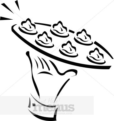 Appetizers and drinks clipart black and white image royalty free stock Appetizers clipart black and white 5 » Clipart Portal image royalty free stock