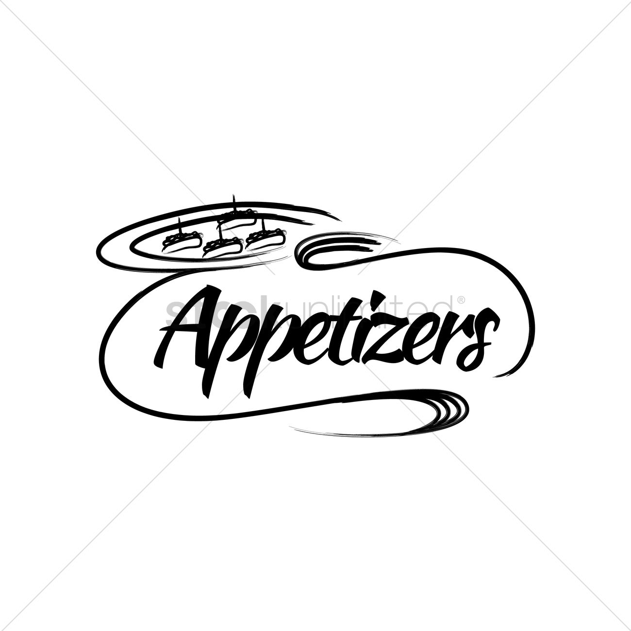 Appetizers and drinks clipart black and white jpg download Appetizer Cliparts | Free download best Appetizer Cliparts on ... jpg download