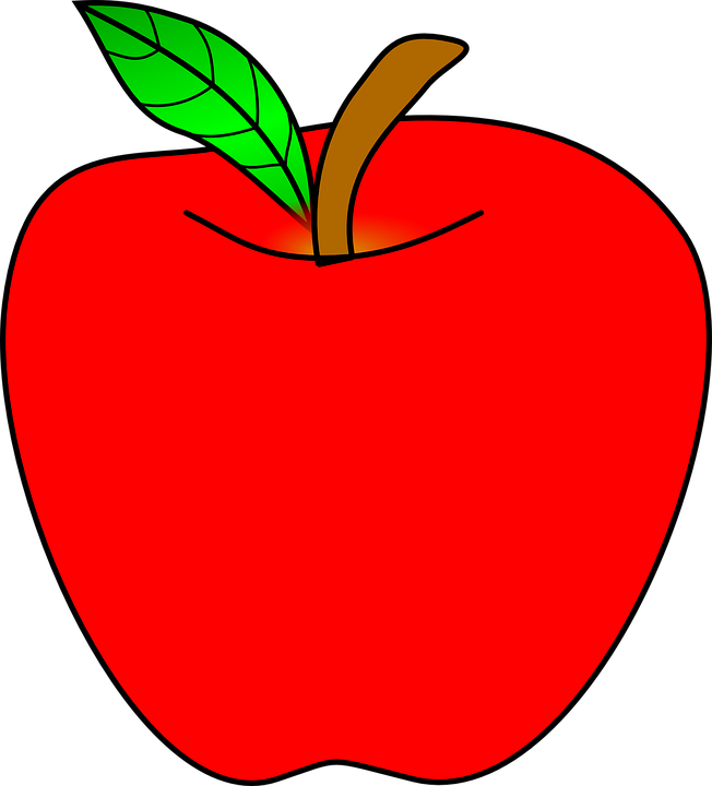 Apple banner transparent download Free vector graphic: Apple, Ripe, Red, Healthy, Food - Free Image ... banner transparent download