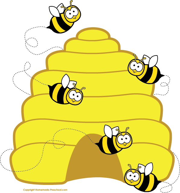 Beehive on a tree clipart jpg download home free clipart bee clipart beehive bees | Bee Themed Classroom ... jpg download