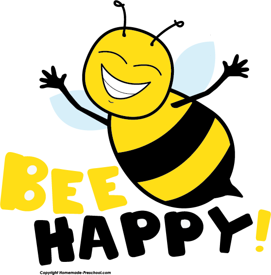 Honeybee with book clipart png library Cute bee clip art love bees cartoon clip art more clip art 2 2 ... png library
