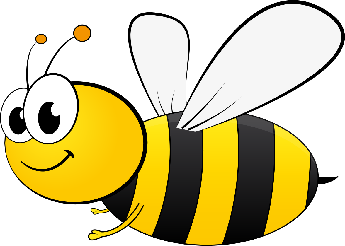 Bee with flower clipart clip transparent stock Cartoon Bee by @GDJ, Cartoon Bee from pixabay., on @openclipart | yw ... clip transparent stock
