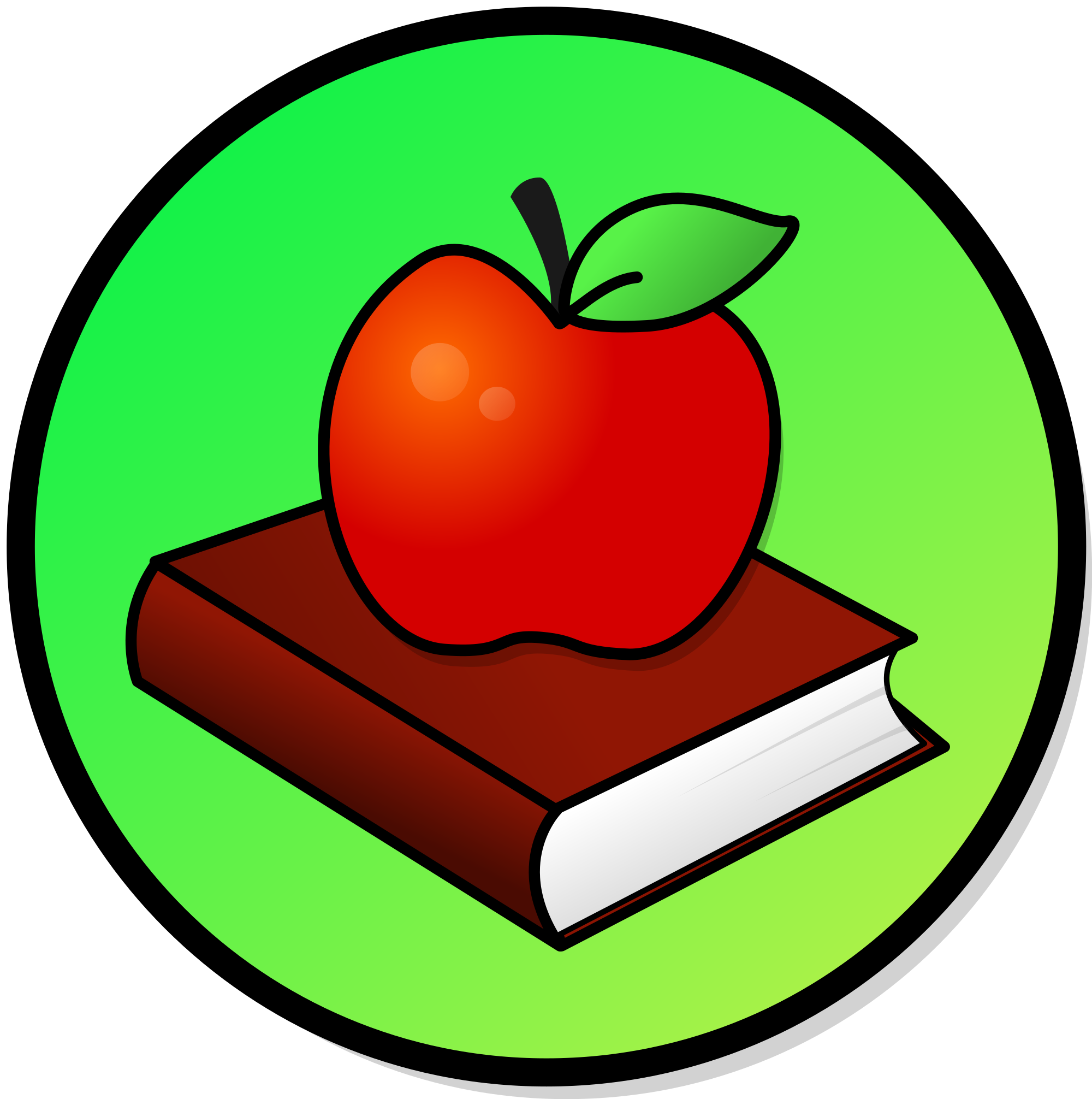 Book apple clipart clipart free stock Apple And Book PNG Transparent Apple And Book.PNG Images. | PlusPNG clipart free stock