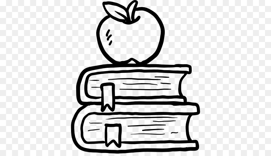 Apple and book clipart black and white picture royalty free stock Book Black And White png download - 512*512 - Free Transparent Apple ... picture royalty free stock